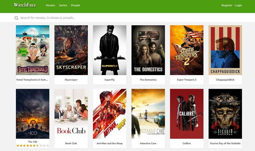 Alternatives to WatchFree for Watching Free Movies