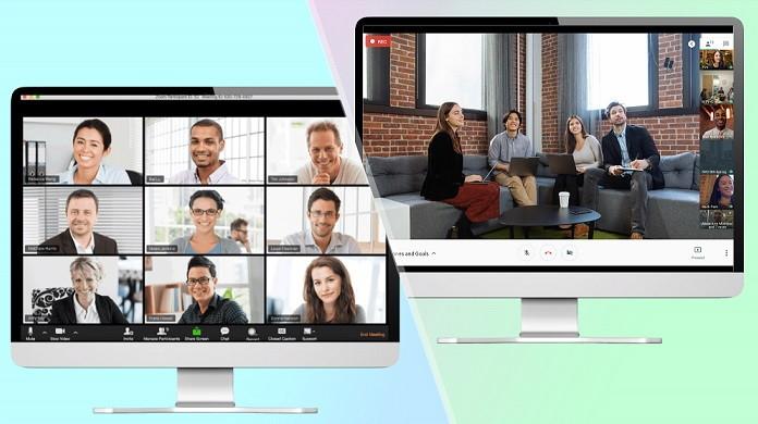 Google Hangouts Meet or Duo