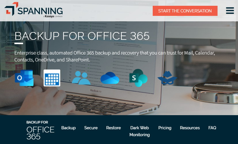 Spanning Backup for Office 365