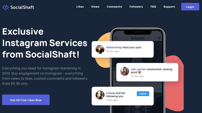 SocialShaft Free Buy Instagram Likes