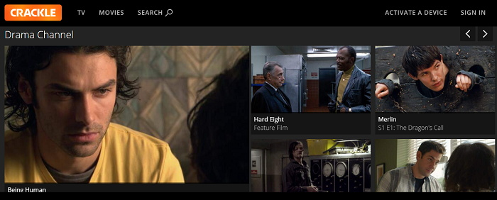 Alternatives to Crackle For Watching Movies, TV Shows Online Free