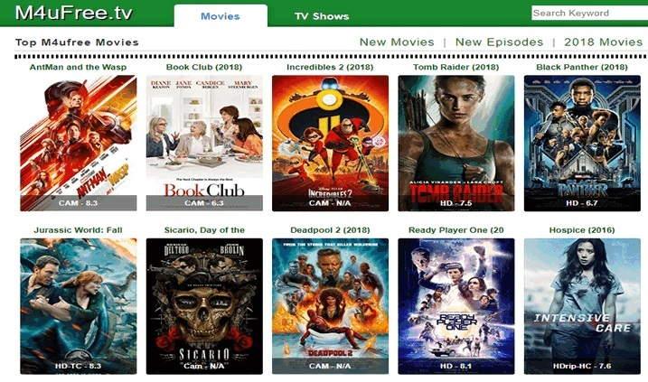 M4uFree Alternatives to Stream HD Latest Movies Online