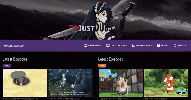 Best Alternatives to JustDubs for Watching Anime Online